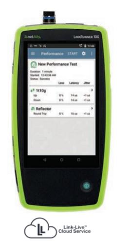 LinkRunner 10G智能型網路測試器10G進階版