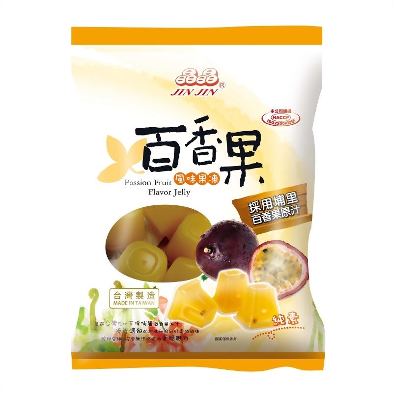 百香果风味果冻480g