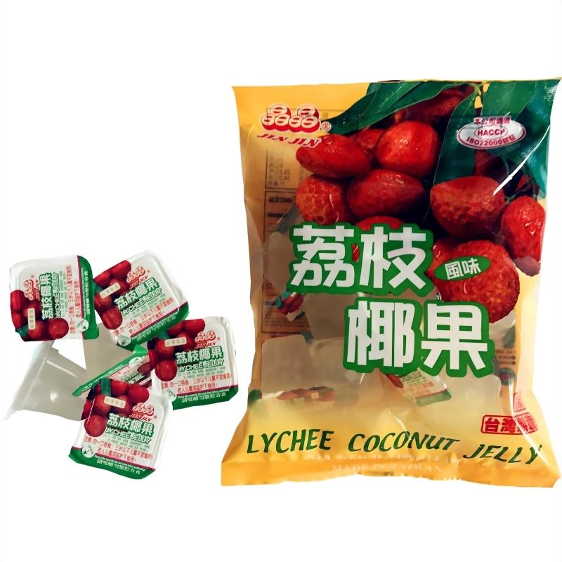荔枝風味椰果果凍400g