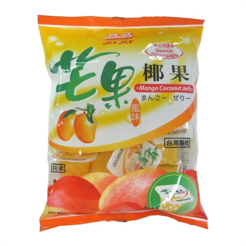 芒果風味椰果果凍400g