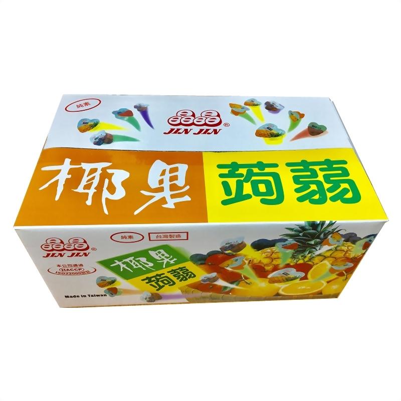 心型椰果蒟蒻果凍