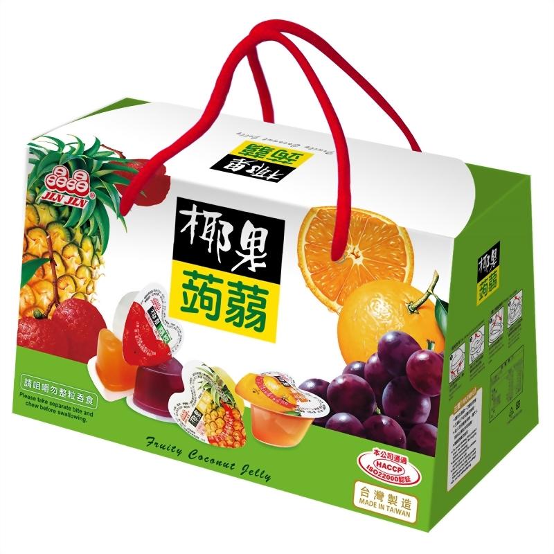 心型椰果蒟蒻禮盒