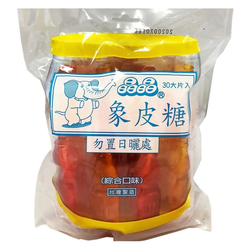 晶晶象皮糖(綜合口味)
