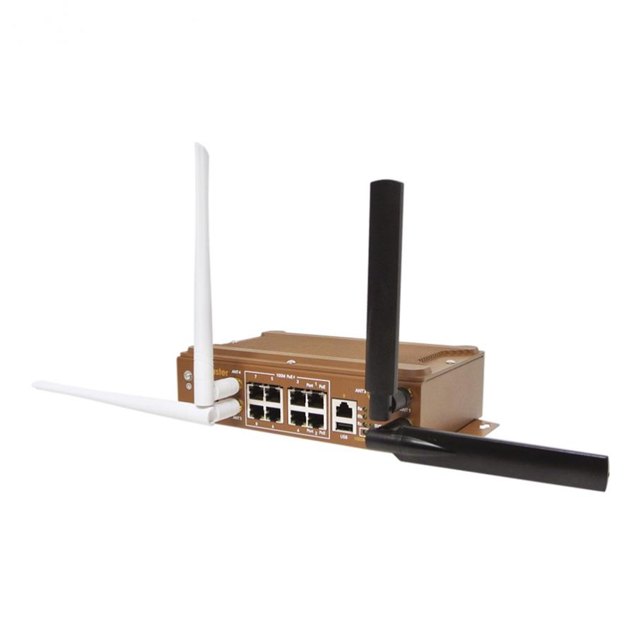 WR329P-WLAN-LTE 工業級LTE POE交換器