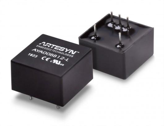 AYA 2 Watt Isolated DC-DC Converter Series工業用
