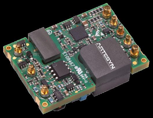 AVD75 Series 1/16 磚電源模塊