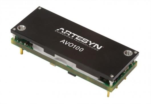 AVO100-48S28 Series1/8磚電源模塊