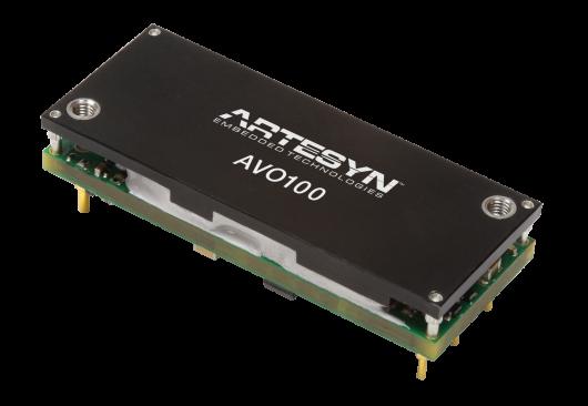 AVO100 Series1/8磚電源模塊