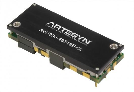 AVO200-48S12 Series1/8砖电源模块