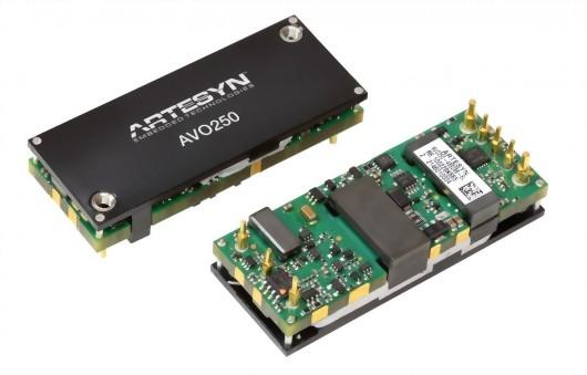 AVO250-48S28 Series1/8砖电源模块