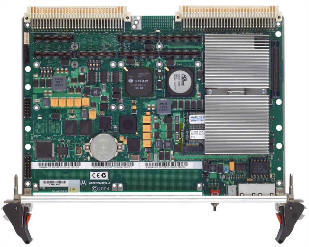 MPC8540 SoC VME 工業用單板電腦
