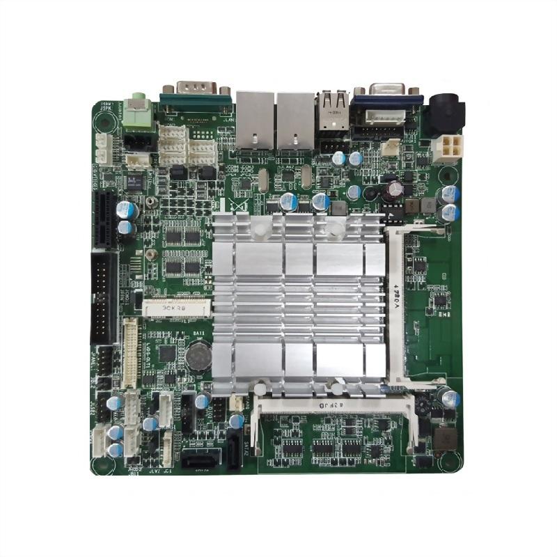 Mini-ITX-工業主機板-D J1900 CPU(Quad Core, 2.0GHz) onboard