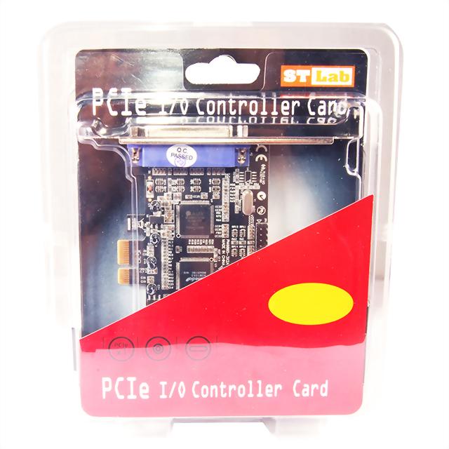 I-370:印表机25PIN适用 1端口Parallel PCIe扩展卡