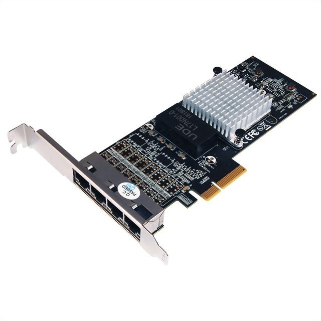 N-580 Intel 伺服器級RJ45 Gigabit 網路卡