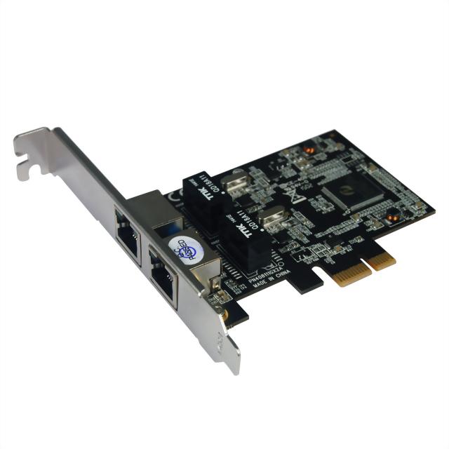 N-381 PCIe Dual Ports LAN Card