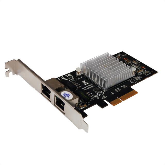 N-390 PCIe Dual Ports Gigabit LAN Card