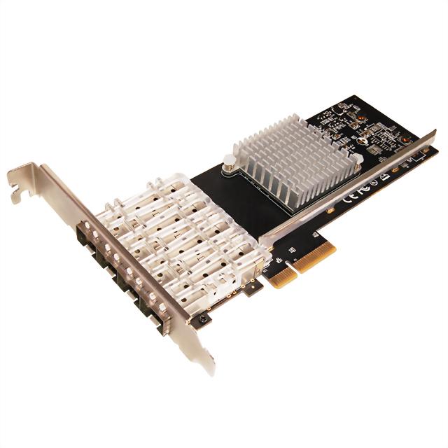 N-630:Gigabit 4埠網路卡(SFP+光纖) -Intel晶片