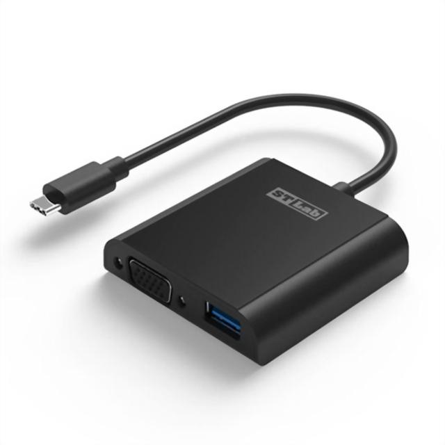 U-1540:Type-C to USB3.0+VGA 轉換器