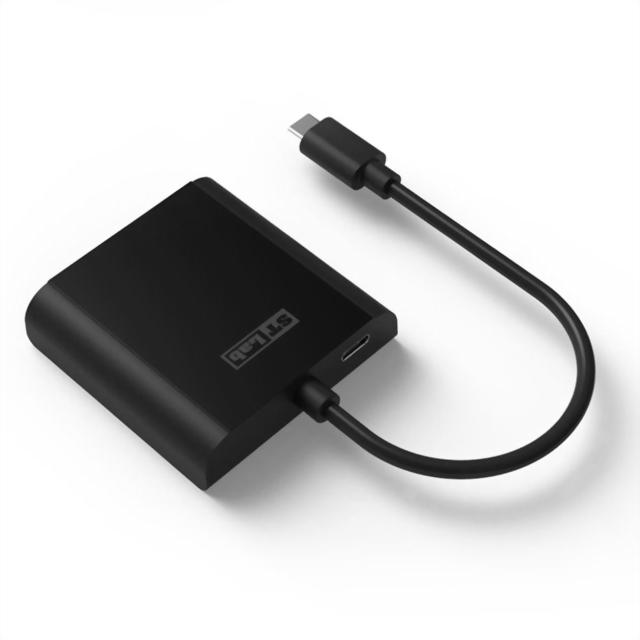 U-1540 USB-C to VGA Adapter with PD(DP Alt Mode)