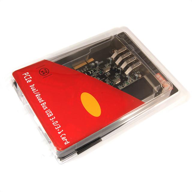 U-1600:USB3.1 Gen 2*4擴充卡-ASMDIA晶片