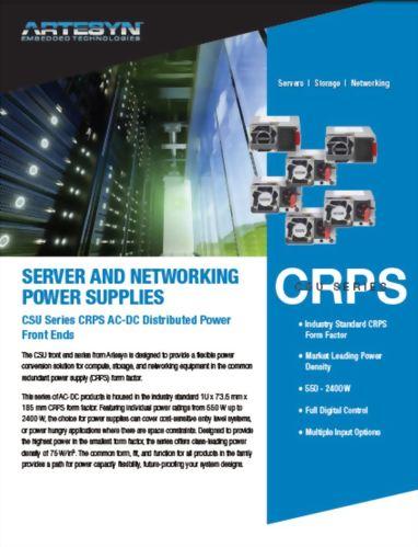 CRPS產品說明