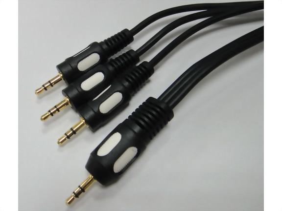 3.5mm Stereo Plug - 3*3.5mm Stereo Plug,