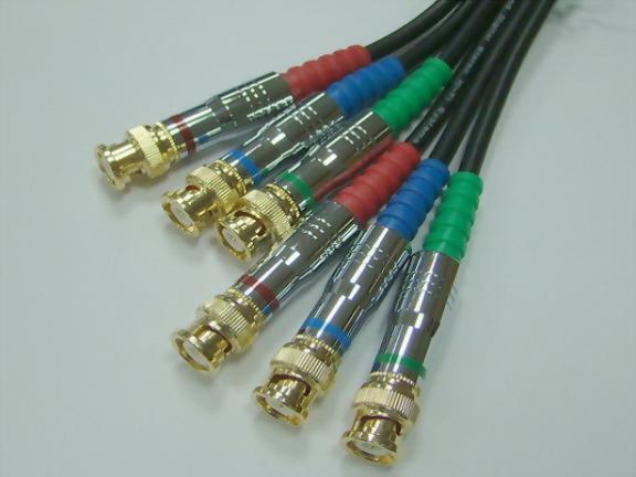 3*BNC Plugs -3* BNC Plugs