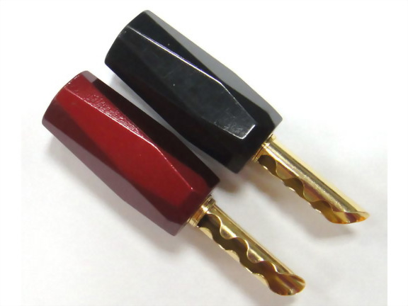 Can be Used as Banana Plug or Jack. Color: Red, White