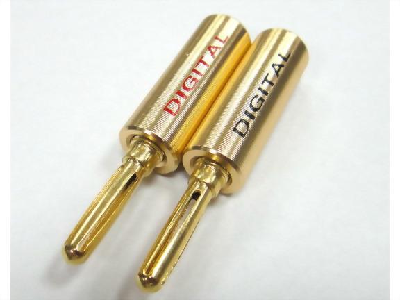 Banana Plug, Screw Type, Aluminum Handle Ring: Red, Black
