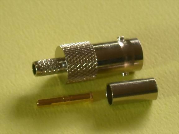BNC FEMALE CRIMP TYPE