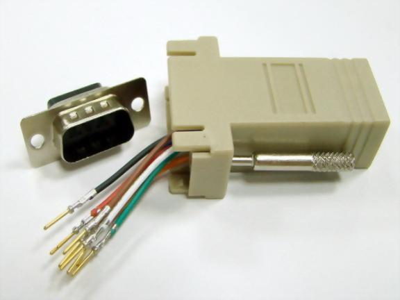 RJ45 Jack to HDDB15P Male