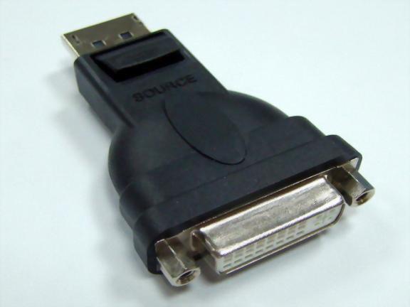 DisplayPort Male To DVI Female