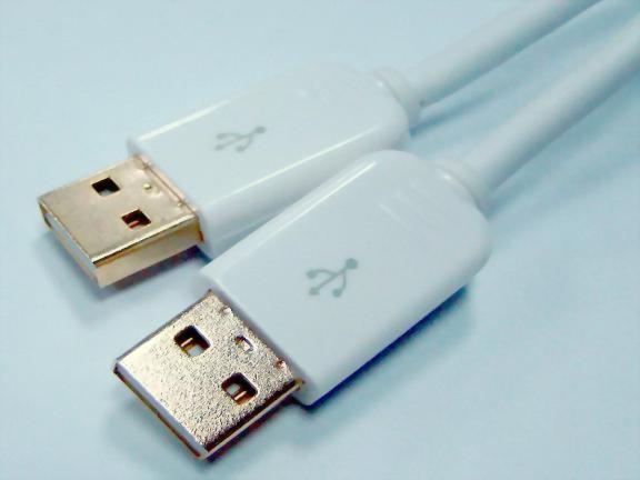 HDMI Male - HDMI Male, Gold Plating, White
