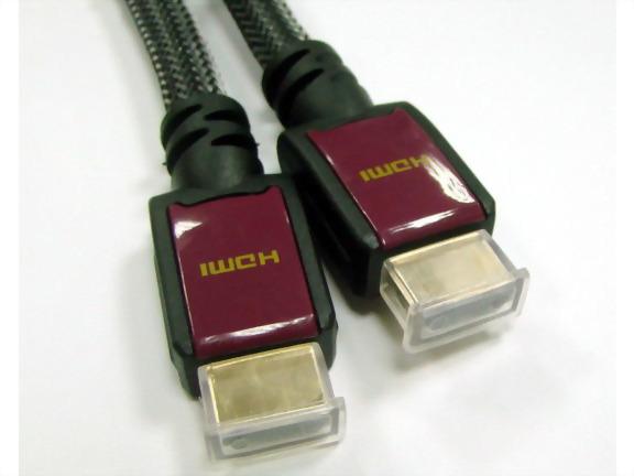 HDMI Male - HDMI Male, W/sleeve