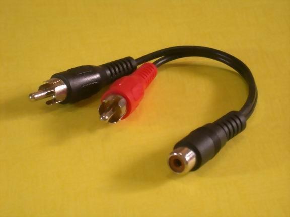 RCA JACK-2XRCA PLUGS