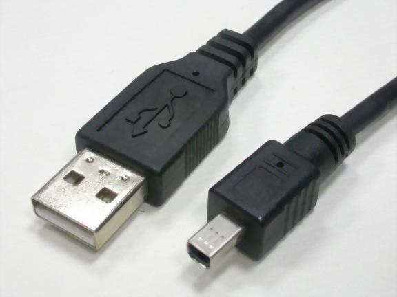 USB A MALE-MINI USB B 4P MALE
