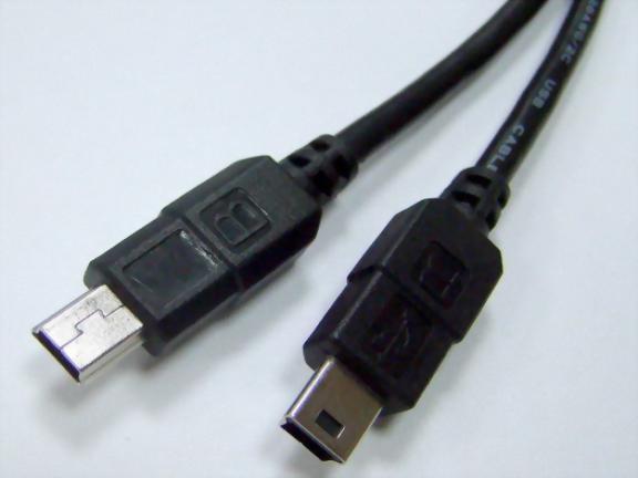 Mini USB B 5P Male-Mini USB B 5P Male