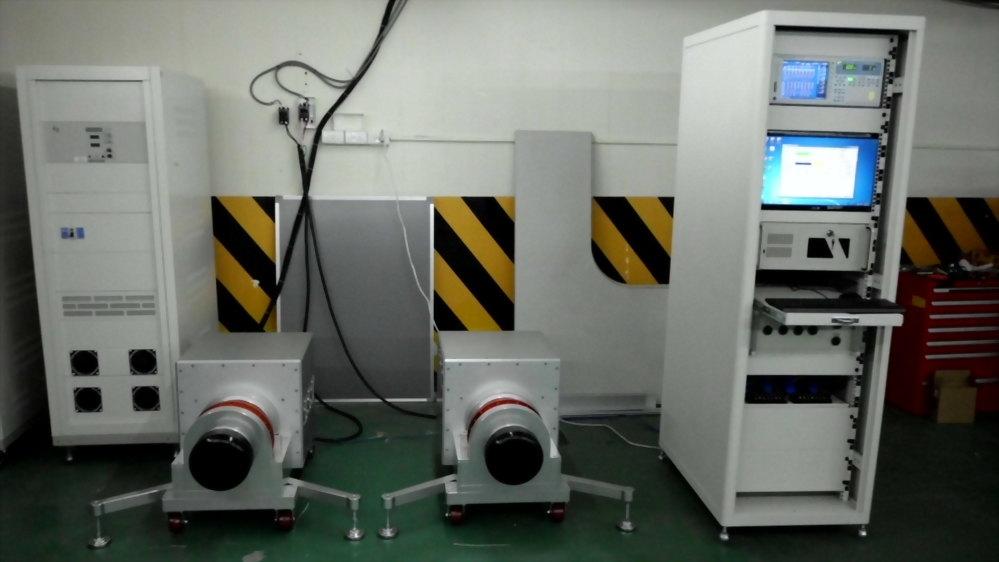客製化馬達成品測試系統圖片