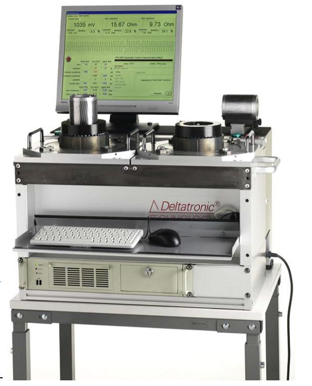 鼠籠式轉子品質檢測系統
