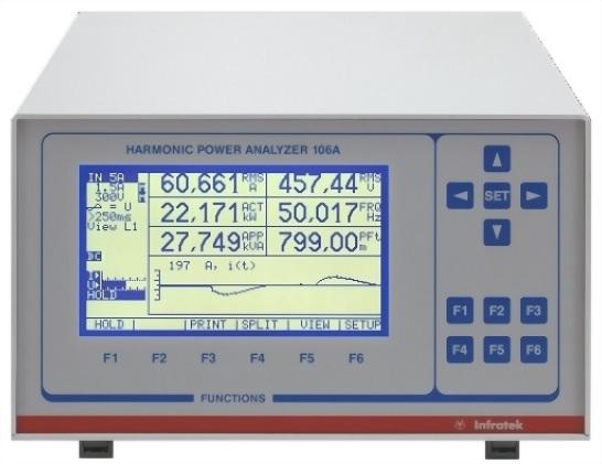 寬範圍高精度電力分析儀