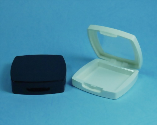Square Plastic Compact