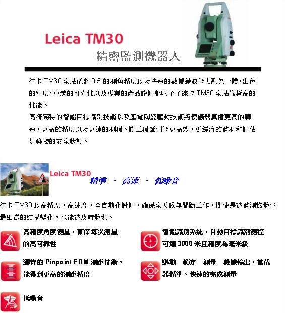 Leica TM30