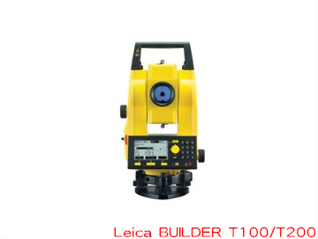 Leica BUILDER T100/T200