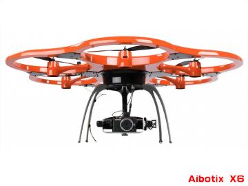 Aibotix X6 專業空拍機|UAV無人航拍系統