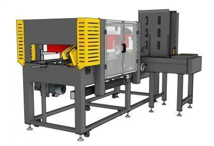 客製化水平式自動開箱 | 熱熔膠封箱 | 貼帶封箱 | 氣動打釘封箱 / PW-547ERS(ST)
