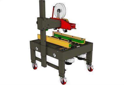 Carton Sealing Machines / Top & Bottom Seal | Uniform Carton Sizes / PW-542