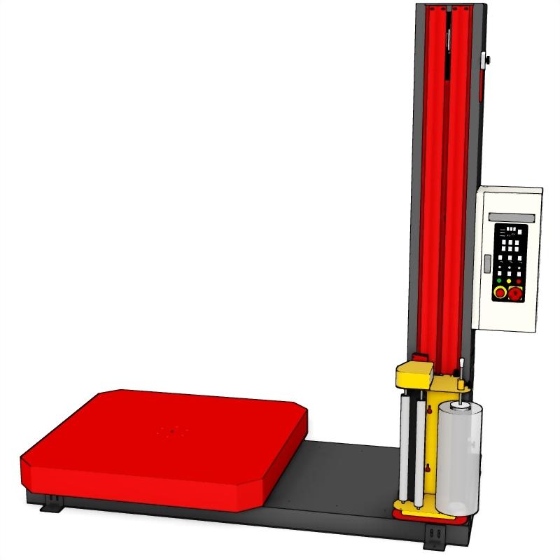 PW-1721RTH-T2 重力型棧板裹膜機