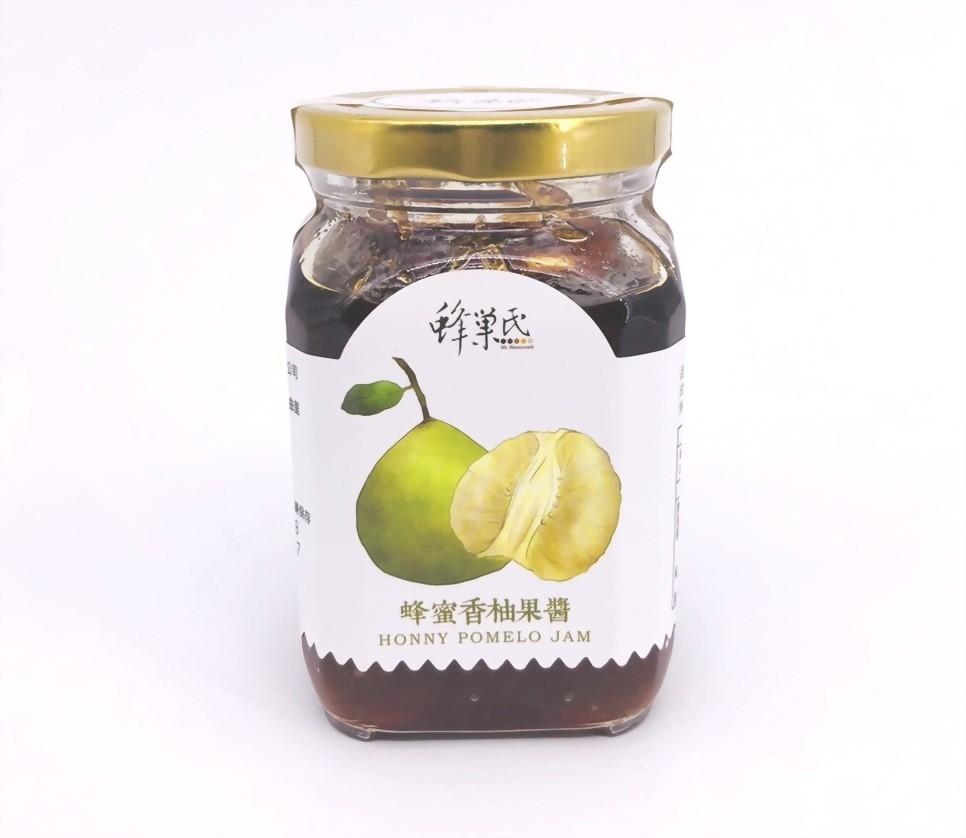 蜂蜜香柚果醬350g