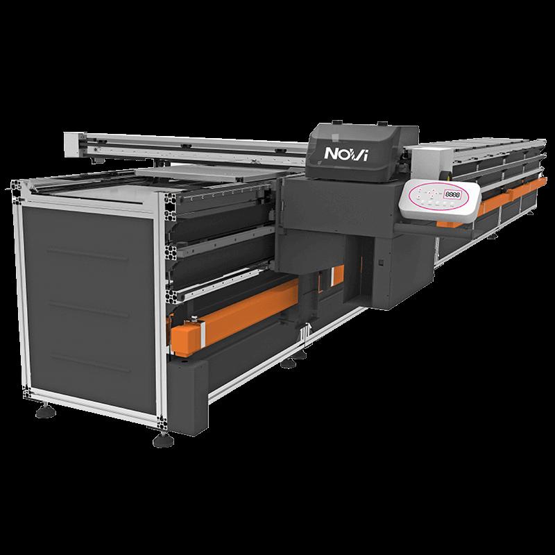 F601雙工業噴頭數位跑台印花機