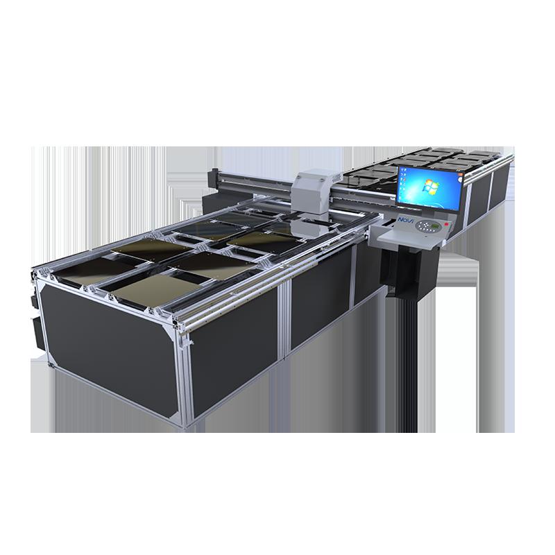 F602雙工業噴頭數位跑台印花機